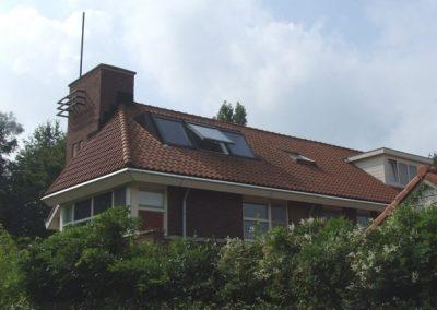 Baskapel op dak