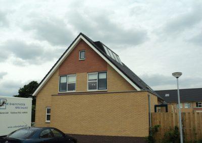 Baskapel op dak woonhuis