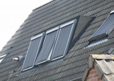Baskapel van dichtbij op dak